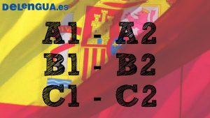 Níveis do exame DELE, cursos de A1, A2, B1, B2, C1 e C2