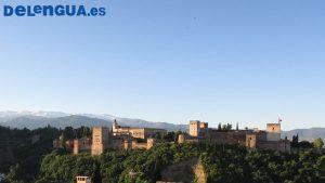Alhambra, a paisagem de Granada, cidade para aprender espanhol